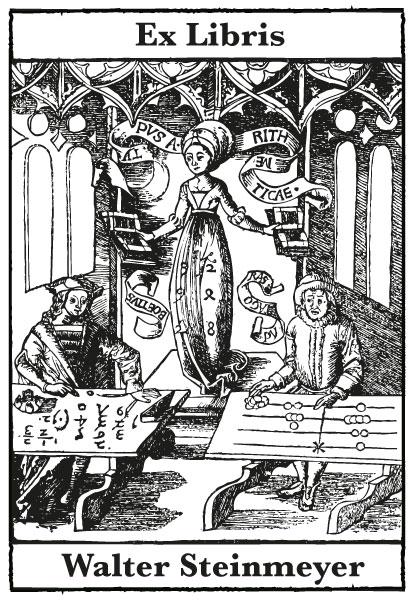 Exlibris Arithmetik