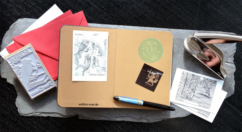 Personalisierbare Ex Libris - Ihre individuelle Exlibris Grafik für ...