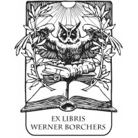 Bookplate Owl