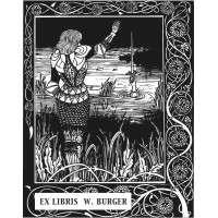 Bookplate Excalibur
