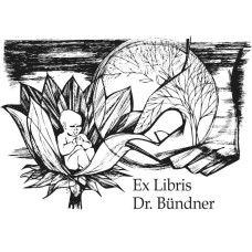 Bookplate Lotus and Medicine