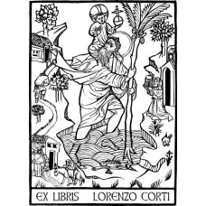 Bookplate Holy Christoph