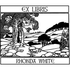 Bookplate Landscape