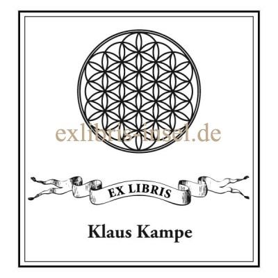 Bookplate Flower of Life