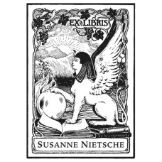 Bookplate Sphinx