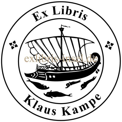 Bookplate Ship of Dionysos