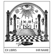 Bookplate Symbolism Freemasons