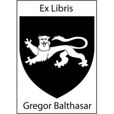 Bookplate Coat of Arms Griffin