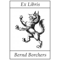Bookplate Wolf, Heraldry