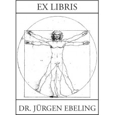 Bookplate Vitruvian Man