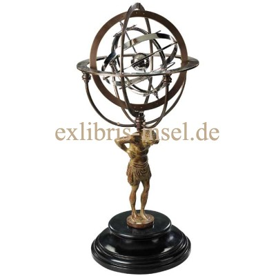 Planetary Model Armillary Spheres and Titan Atlas