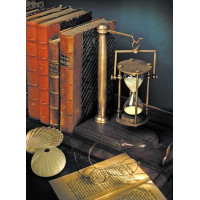 Book end hourglass