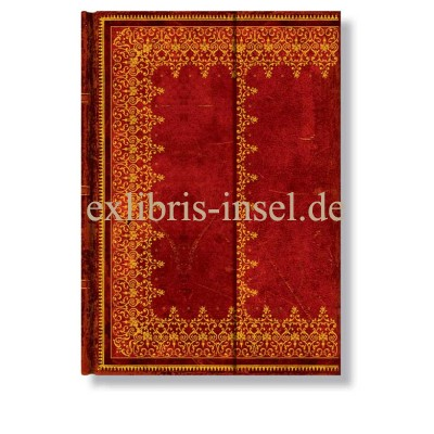 Notebook Faux Leather Gold