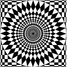 Optical pattern deception