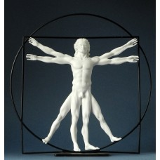 Sculpture vitruvian man