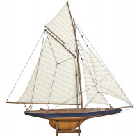 Sailing Yacht America's Cup Columbia 1901, Small