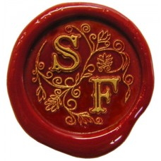 Siegel Petschaft Monogramm Arabesque