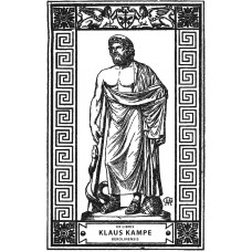 Bookplate Asklepios, founder of the healing arts