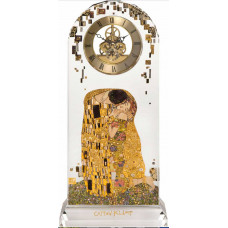 Case clock, the kiss of Gustav Klimt