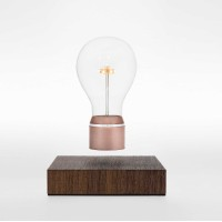 Floating lightbulb lamp