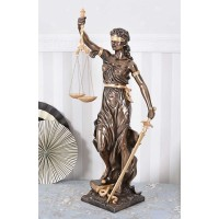 Justitia sculpture Antike