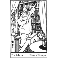 Bookplate Clown