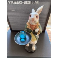 Figure rabbit after Alice in Wonderland by Peter White