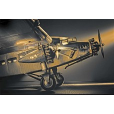 Airplane model high wing aircraft Ford Trimotor