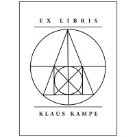 Bookplate Ex Libris Symbol Philosopher's Stone