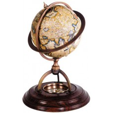 Globe with Compass after Robert de Vaugondy