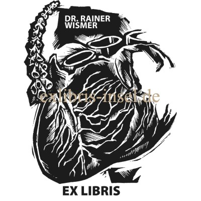 Bookplate doctor medicine cardiologist