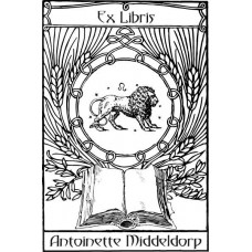Bookplate Zodical Sign Lion