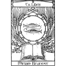 Bookplate Zodical Sign Fish
