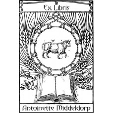 Bookplate Zodical Sign Taurus