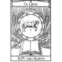 Bookplate Zodical Sign Aries