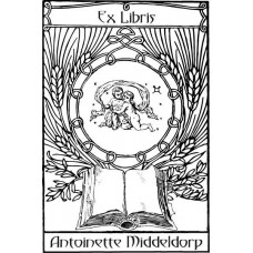 Bookplate Zodical Sign Gemini