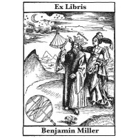 Bookplate Astronomy and Ptolemy