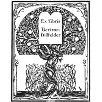 Bookplate Tree and Snake