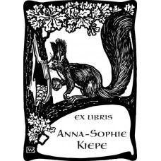 Bookplate Squirrel