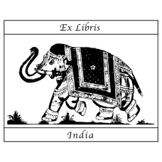 Bookplate Indian Elephant