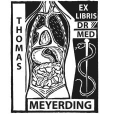 Ex Libris Arzt, Internist