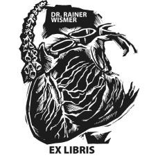 Ex Libris Arzt, Kardiologie, Herz