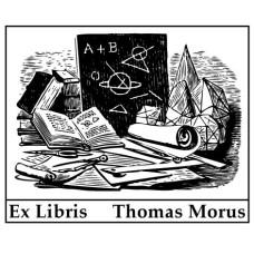 Ex Libris platonische Körper