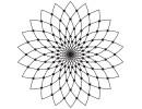 Stempel Rosette